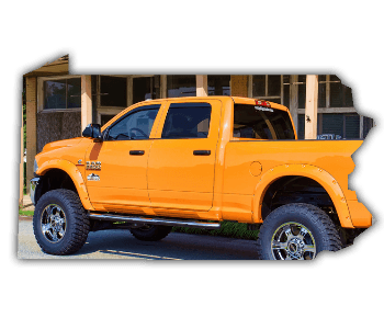 lifted trucks for sale Pennsylvania