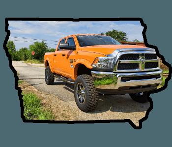 lifted trucks for sale Iowa