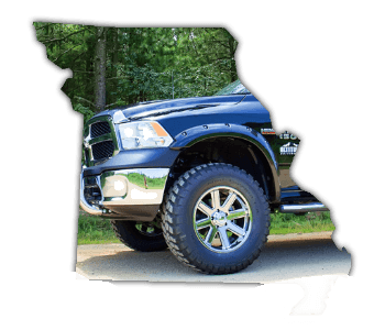 lifted trucks for sale Missouri