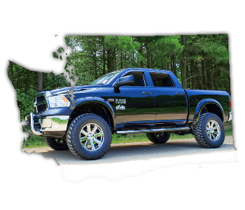 lifted trucks for sale Washington