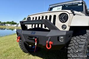 Rocky Ridge Jeep Stealth Front Bumper