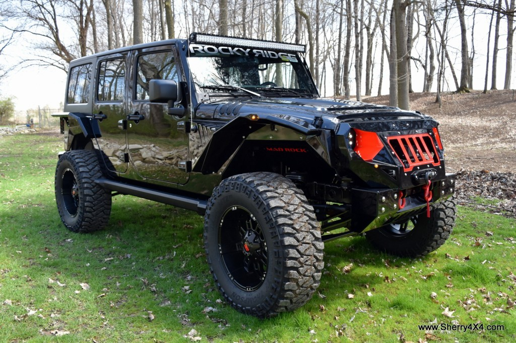Rocky Ridge Mad Rock Jeep Wrangler Sherry4x4