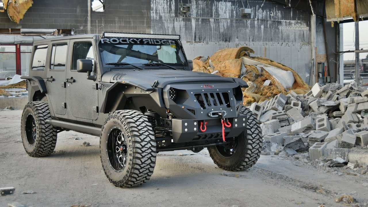 lifted rocky ridge jeep mad rock
