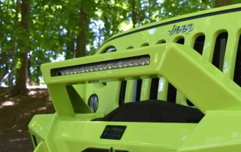 lifted-jeep-grill-light-bar
