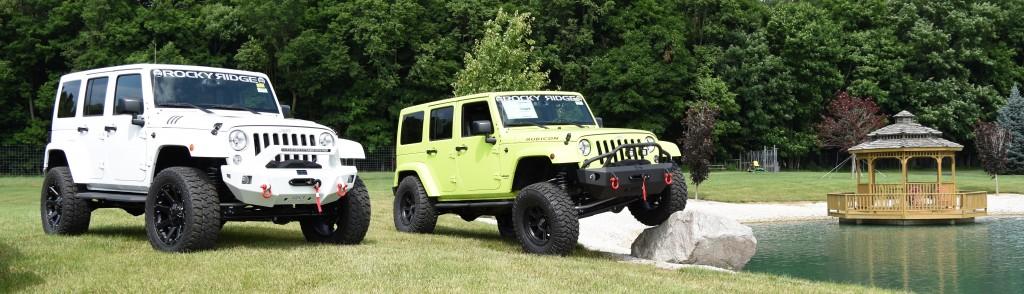 new custom lifted jeeps