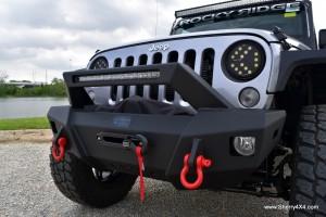 Rocky Ridge Jeep Wrangler Summit Front Bumper