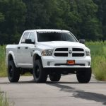new lifted ram trucks