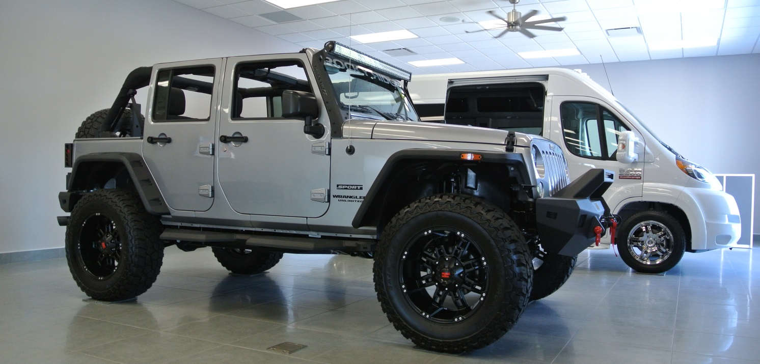 new lifted jeep wrangler