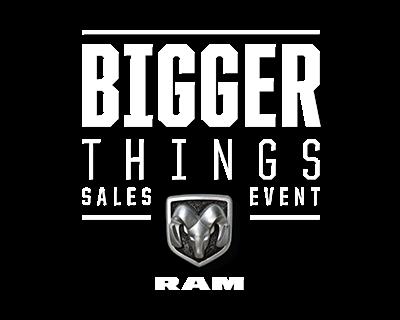 Ram Bigger Things Sales Event Ohio