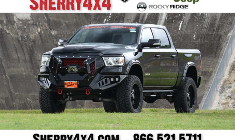 Lifted 2019 Ram 1500 - Rocky Ridge Trucks Mad Rock | 28956T