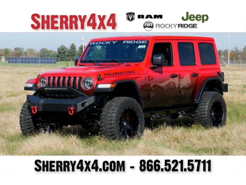 Jeep Wrangler Unlimited Lifted >> Lifted 2020 Jeep Wrangler Unlimited - Rocky Ridge Trucks ...