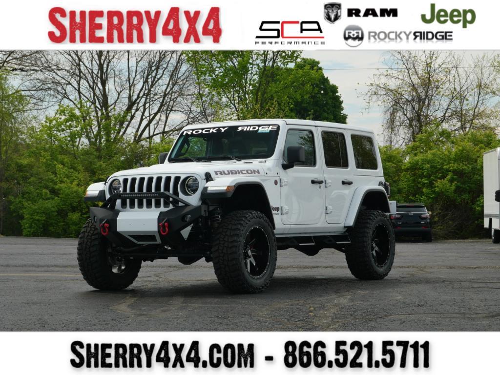 Lifted 2020 Jeep Wrangler Unlimited Rocky Ridge Trucks K2 29321t Sherry 4x4