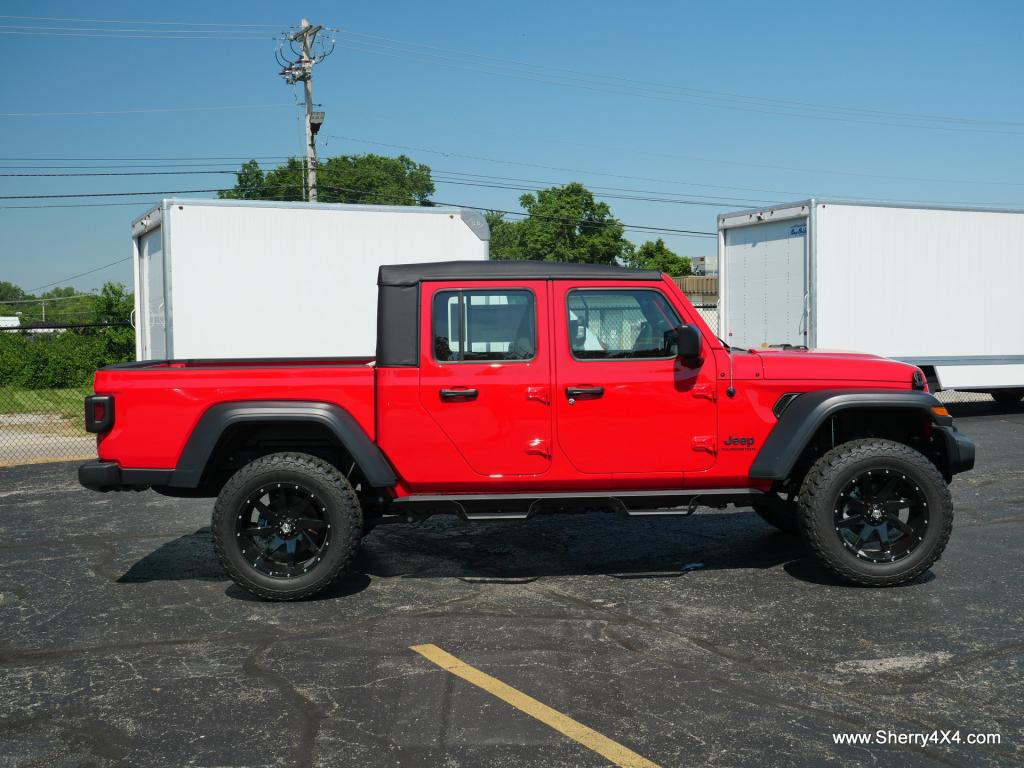 lifted jeep gladiator truck