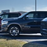 2021 new ram lifted truck
